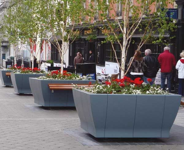 Just Street Planters Design And Manufacture Street And