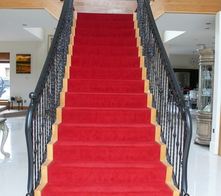 Red Stair Case