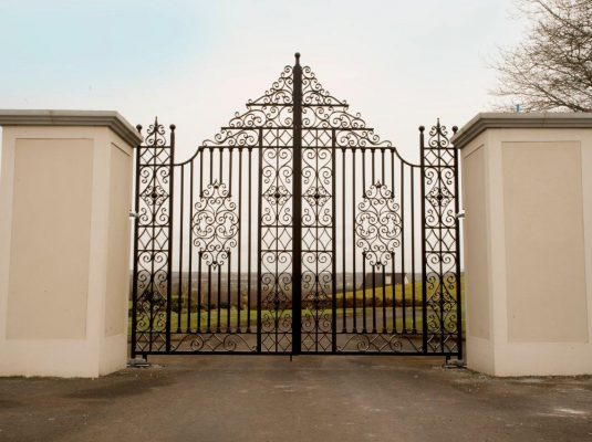 Tall Iron Gates